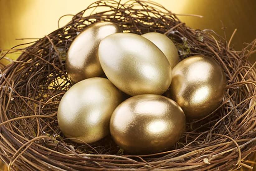 Telor emas